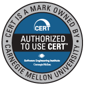 Authorized to use CERT(TM) - CERT is a mark owned by Carnegie Mellon University